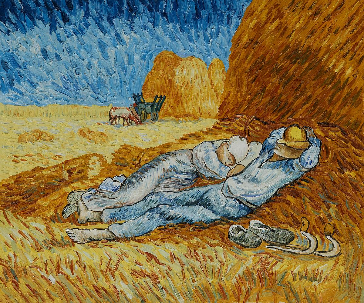 durer Albrecht van gogh millet at noon siesta at noon sex