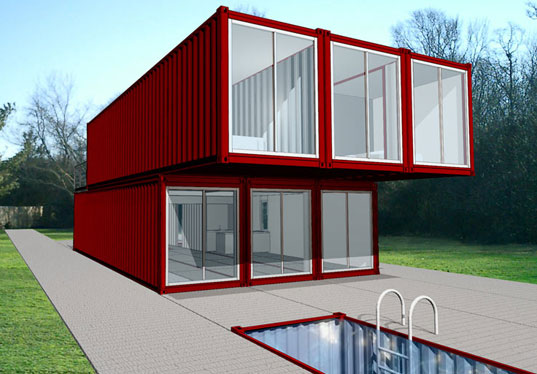 Container home kit nathalie zegarra for Shipping container kit homes